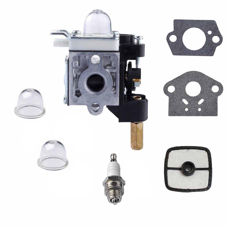 Gator parts New Carburetor RB-K75 Fuel Maintenance Kit Spark Plug Echo PE200 PE201 PPF210 PPF211 SRM210 SRM211 GT200 GT201i HC150 HC151 Trimmer/Brushcutter