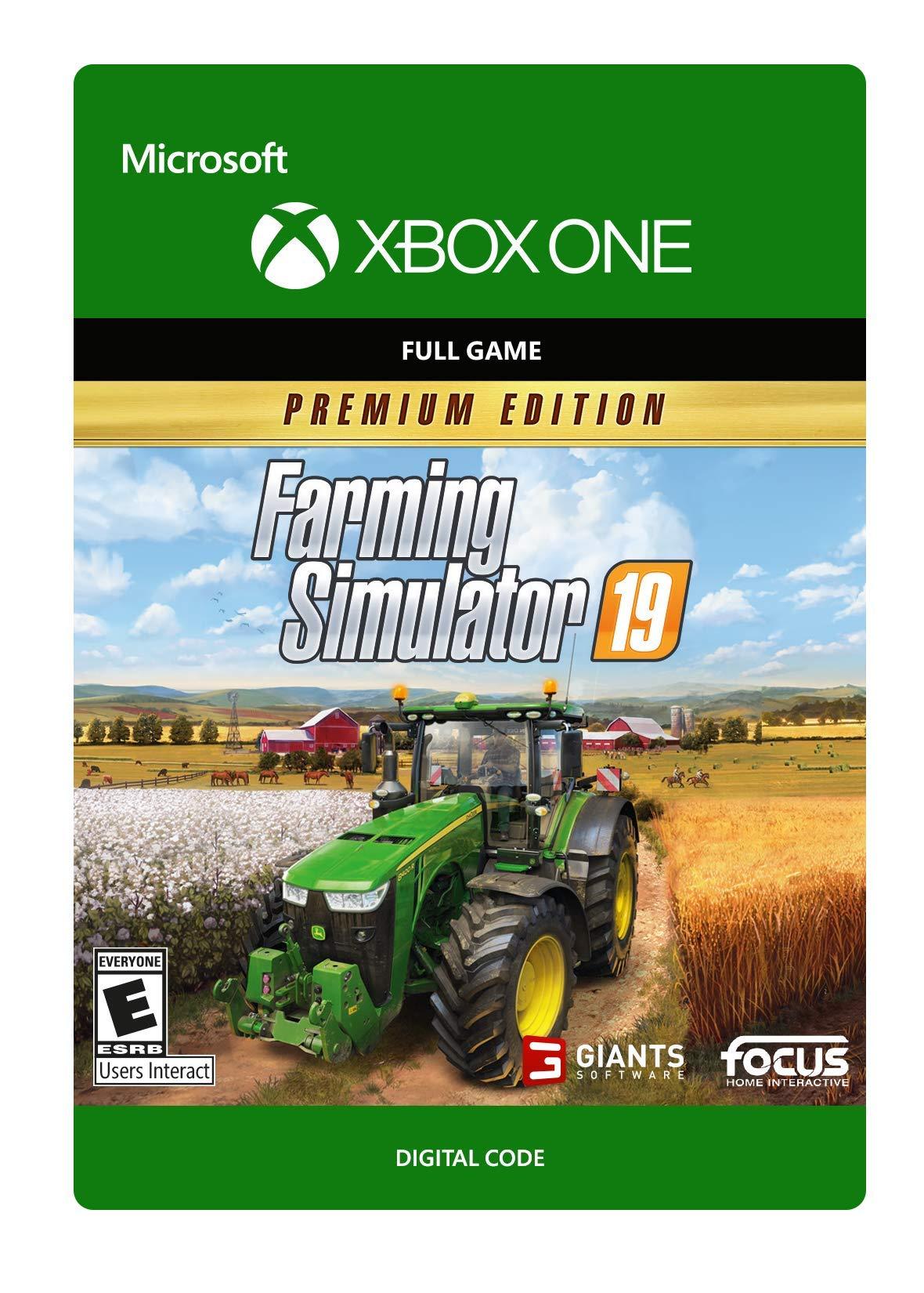 Farming Simulator 19: Premium Edition - Xbox One [Digital Code]