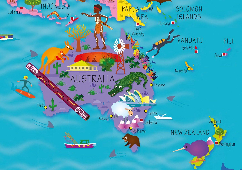 collins children u0027s world map amazon co uk collins maps steve