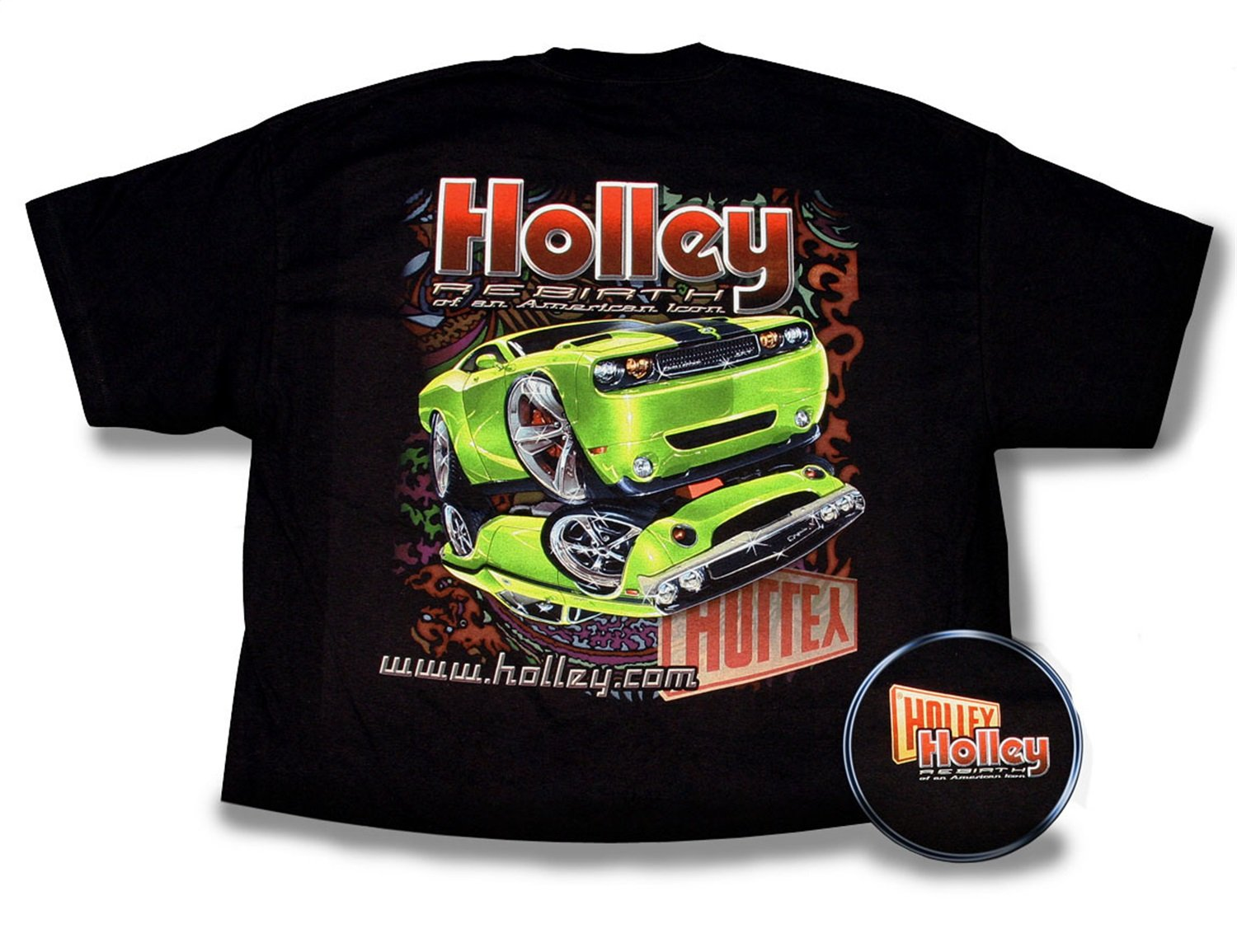 Holley 10007-SMHOL Black Small Fine Art You Can Wear T-Shirt