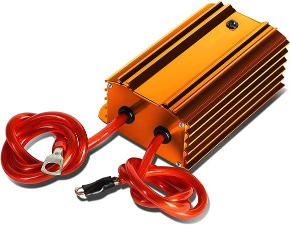 CAR//TRUCK AUDIO GUN METAL VOLTAGE POWER STABILIZER REGULATOR ENGINE FUEL SAVER