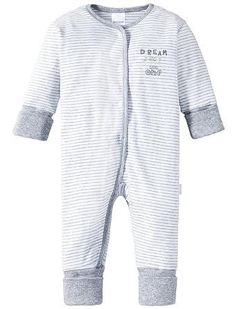 69135671d3 Schiesser Jungen Zweiteiliger Schlafanzug Baby Anzug mit Vario, (grau-Mel.  202)