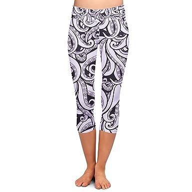 480a44161f5dee Ursula Disney Villains Inspired Yoga Leggings - Capri 3/4 Length ...