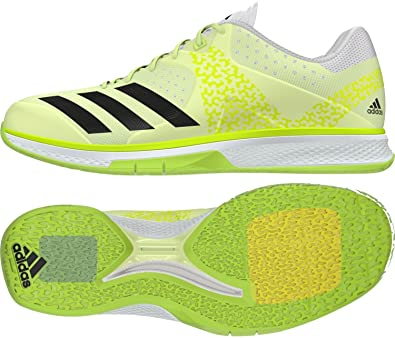 sports shoes ea51e fd988 adidas Counterblast W, Chaussures de Handball Femme,  Multicolore-Jaune Noir Blanc
