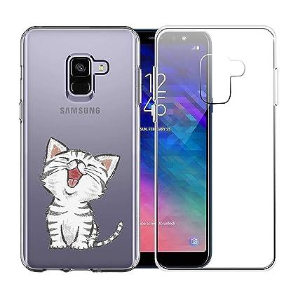 2 X Funda Samsung Galaxy J6 Plus 2018 Suave TPU Silicona ...