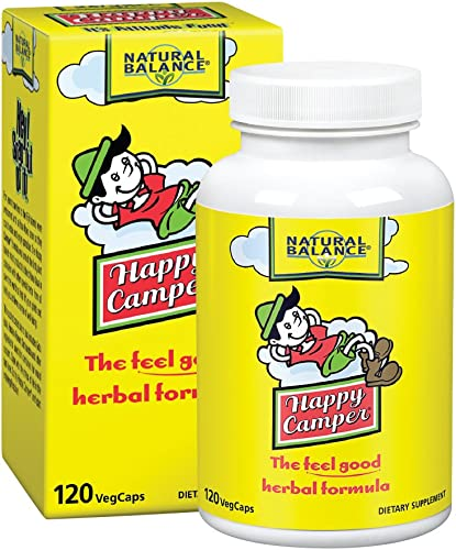Natural Balance Happy Camper, 120-Vegetarian Capsules