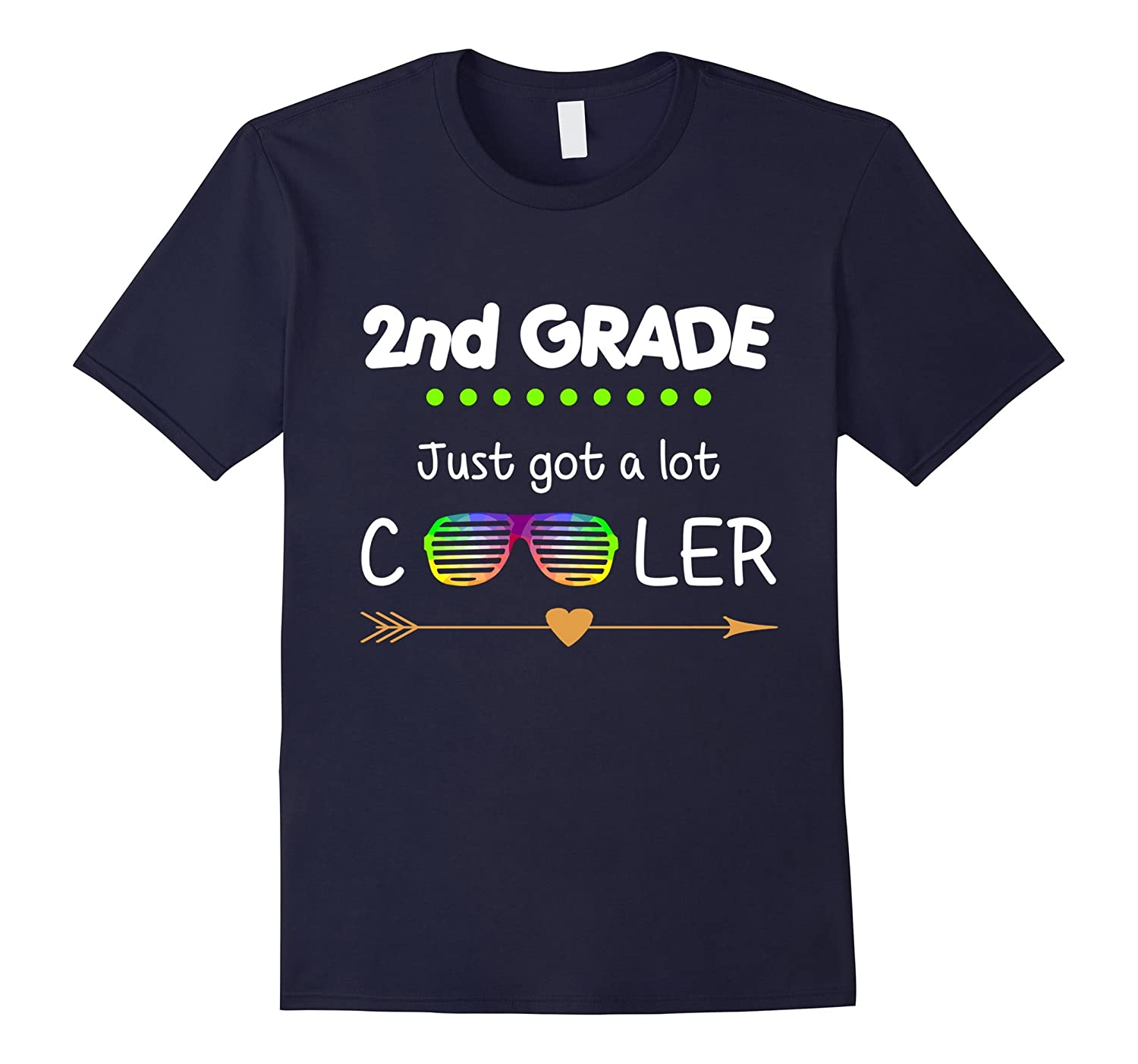 2nd Grade just got a lot cooler T-Shirt-Art
