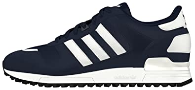 Adidas ZX 700, Baskets Basses Homme, Bleu (Collegiate Navy/FTWR White/