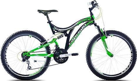 Bicicleta infantil 24 pulgadas MTB amortiguada, marca bicicleta ...