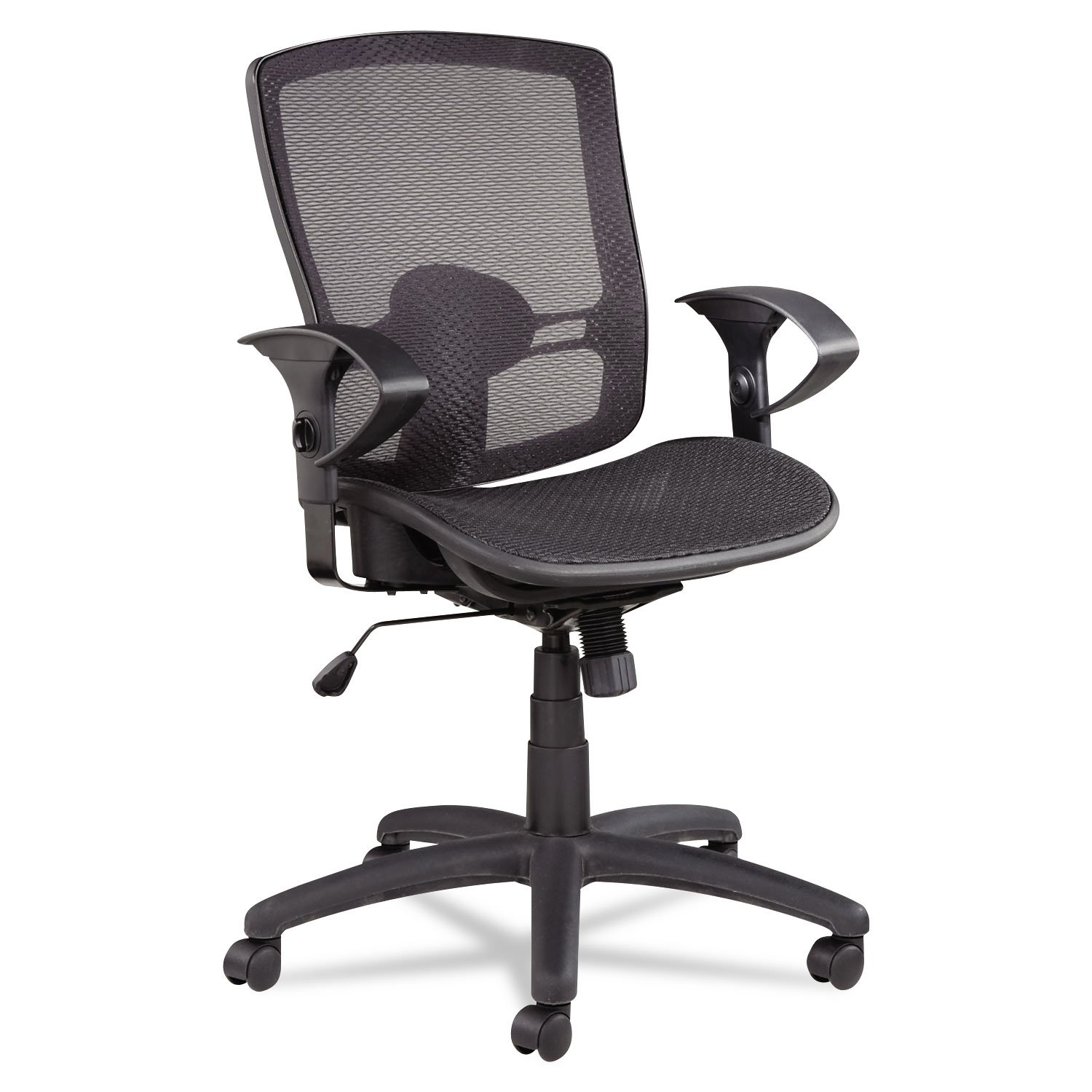 ALEET4218 UNITED STATIONERS (OP) CHAIR,MB, MESH SEAT,BK