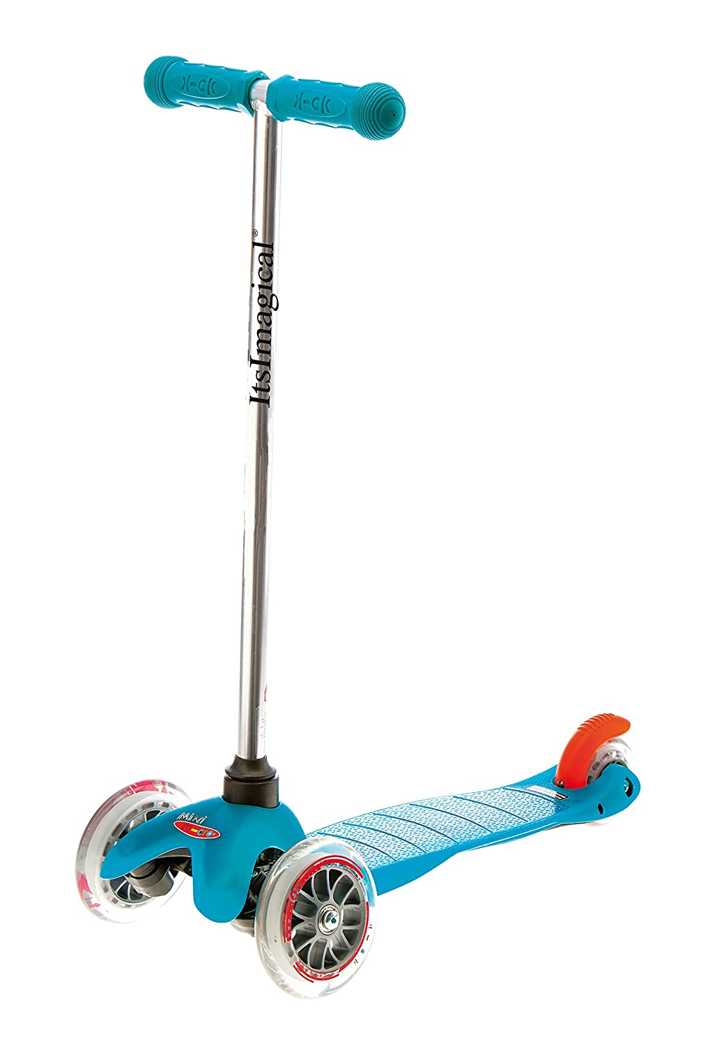 itsImagical - Micro Aqua, Patinete para niños de Color Azul ...