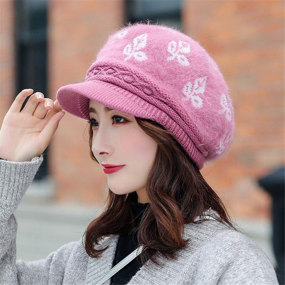 DSNICK-CP Sombrero de Invierno para Mujer Gorro de Pico Gorro c/álido