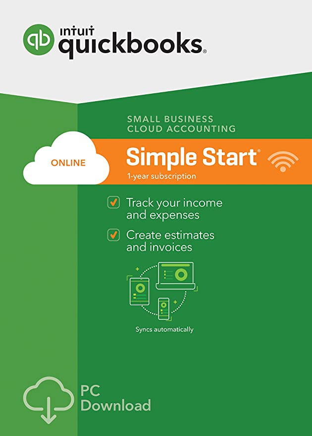 Amazoncom QuickBooks Online Simple Start Small Business - Small business invoice software free download women's clothing online stores