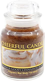 product image for A Cheerful Giver Warm and Gooey Cinnamon Buns Jar Candle, 6-Ounce