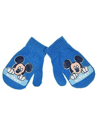 Moufles bébé garçon Disney Mickey 6 coloris Taille unique (6-24mois) - Bleu 682d3fe69e6