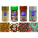 Wilton Holiday Sprinkles 4-pack (Set 2)