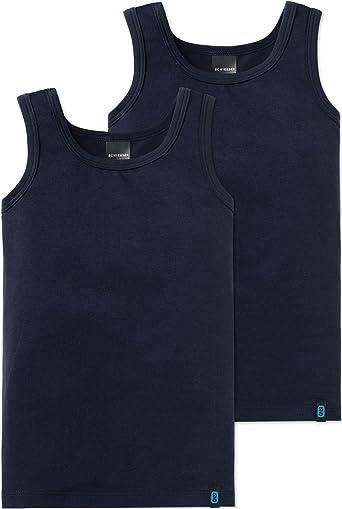 Schiesser Camiseta sin Mangas (Pack de 2) para Niños