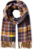 Joules Womens Upton Super Soft Checked Tassle Scarf