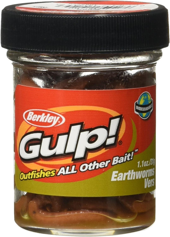 Gulp! Earthworm : Artificial Fishing Bait : Sports & Outdoors