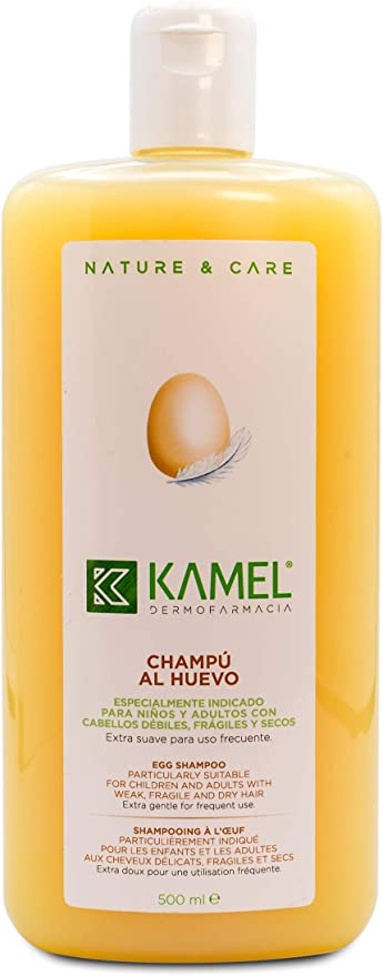 KAMEL - KAMEL Champú Extracto de Huevo 500 ml