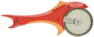 Boston Warehouse 63357 Cutter, 8 inches, Piranha Pizza Wheel