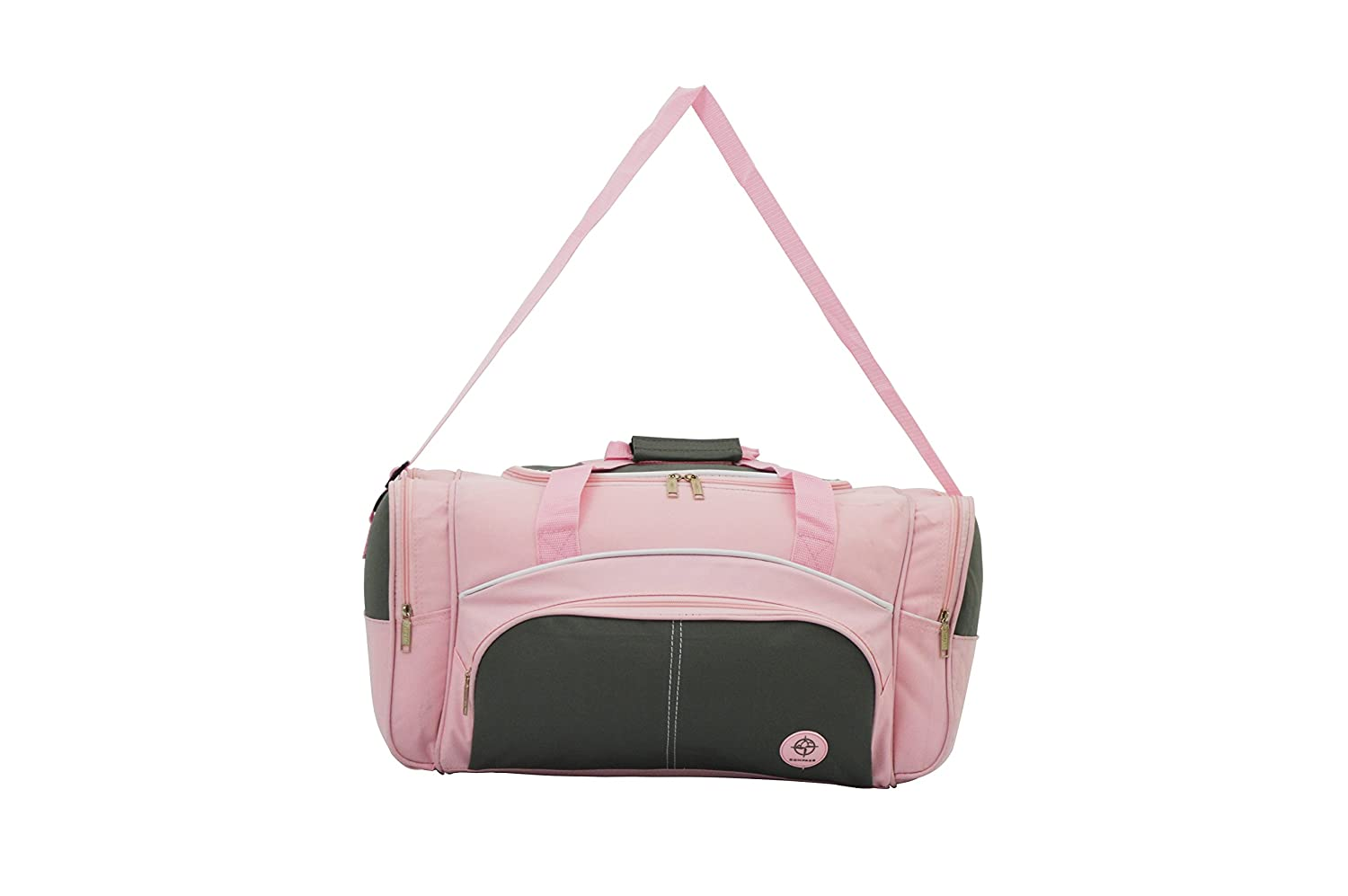 55efc55a6a Pink Ladies Holdall Weekend Gym Bag with an Adjustable Shoulder Strap and side  Pockets  Amazon.co.uk  Luggage