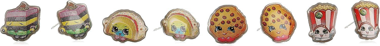 Shopkins 4 Piece Taco Poppy LeQuorice Cookie Stud Earrings