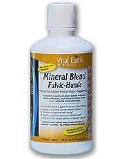 Vital Earth Minerals Mineral Blend Fulvic-Humic, 32 Fluid Ounce