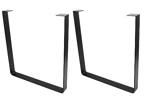 ECLV 710U Dining Table Legs, U-Shaped Heavy Duty Steel Table Legs, Office  Table Legs, Computer Desk Legs, Industrial Kitchen Table Legs, Country  Style ...