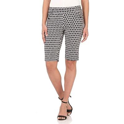 Rekucci Women's Ease Into Comfort Modern Pull-On Bermuda Short with Pockets   Amazon.com