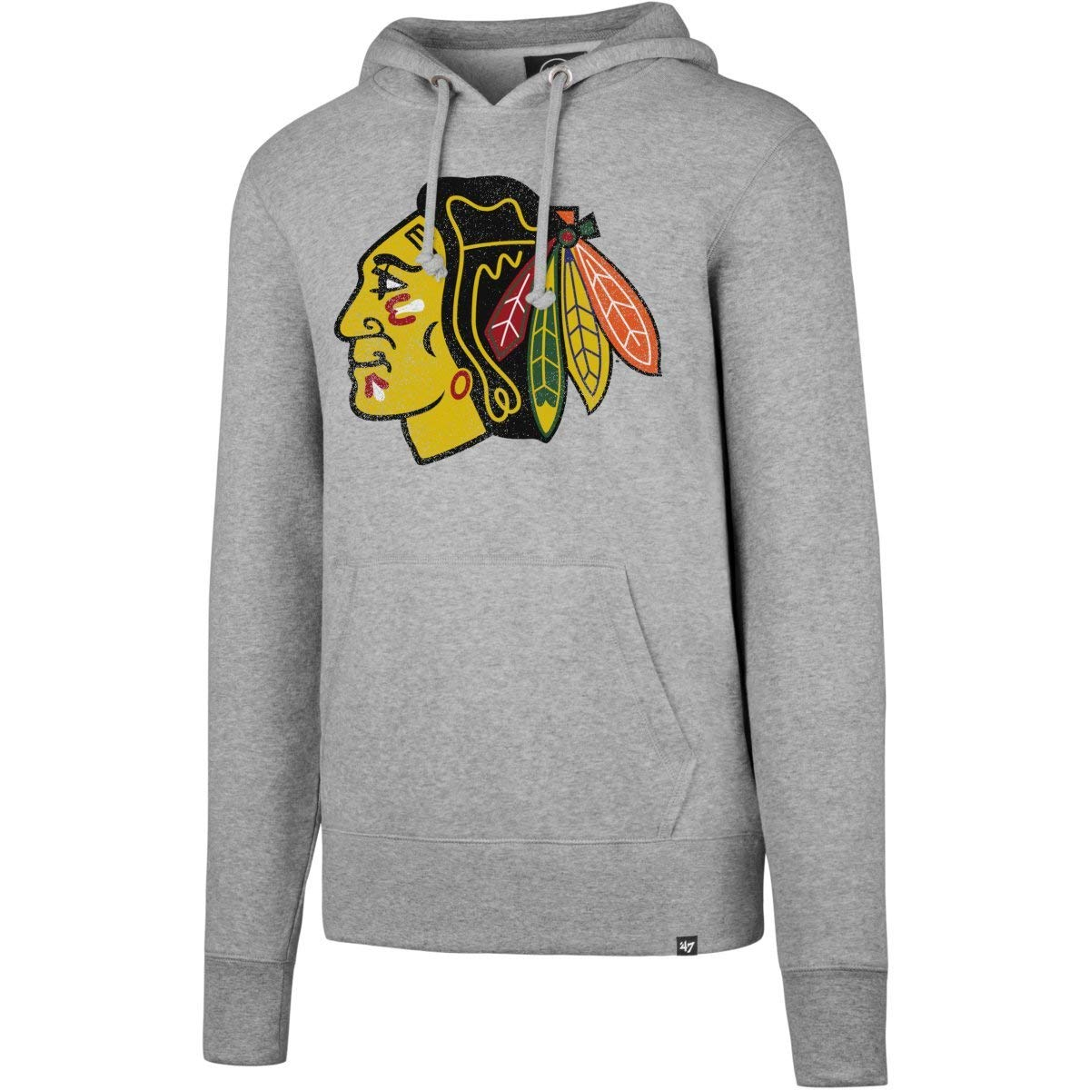 '47 Knockaround Hoodie NHL Sweatshirt, taille:M;nhl teams:Chicago Blackhawks '47