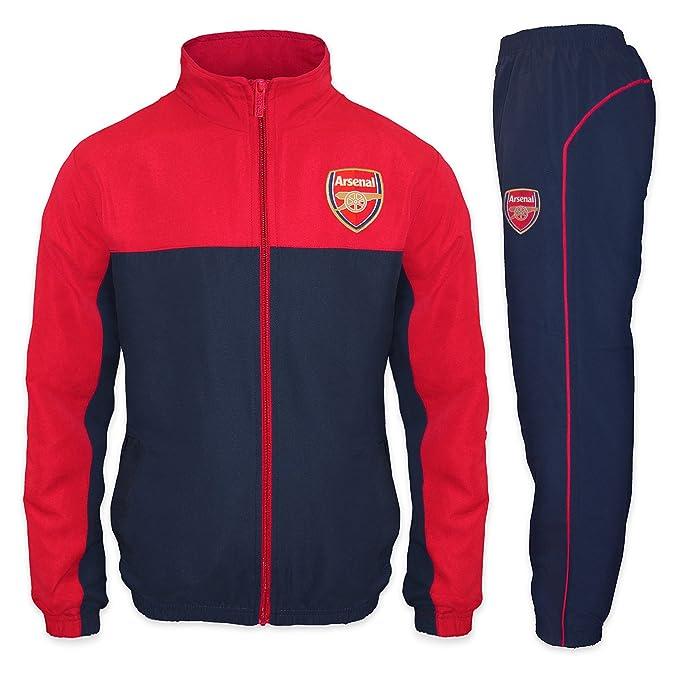Arsenal FC - Chándal oficial para niño - Chaqueta y pantalón largos  Amazon. es  Ropa y accesorios 96b9be6a10feb