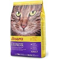 JOSERA Culinesse Kattenvoer met zalmolie, 1 x 400 g, super premium kattenvoer voor volwassen indoor en outdoor katten, 1…