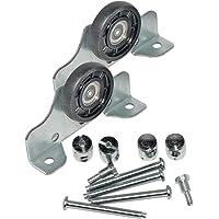 HKB ® 2 loopdelen voor bovenste schuifdeursystemen metaal verzinkt, kunststof, ø = 35 mm, draagvermogen 50 kg, inclusief…