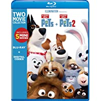 The Secret Life of Pets: 2-Movie Collection [Blu-ray]