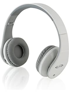 iLive iAHB64W Wireless Bluetooth Headphones, White