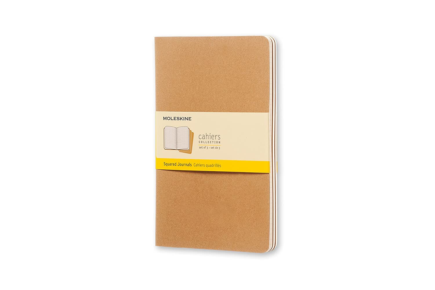Moleskine Cahier Large Notebook - Kraft