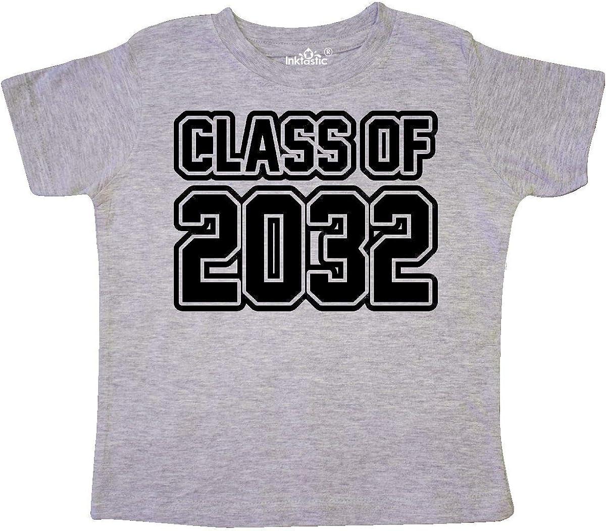 inktastic Class of 2032 Toddler T-Shirt