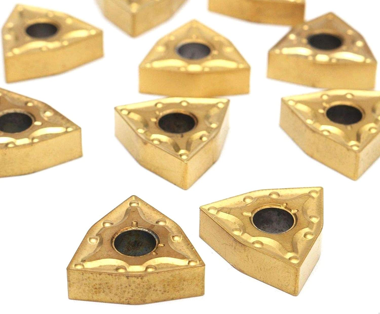Set of 20mm Lathe Turning Tool Holder MWLNR2020K08 PRINDIY 10 WNMG0804 Carbide Inserts