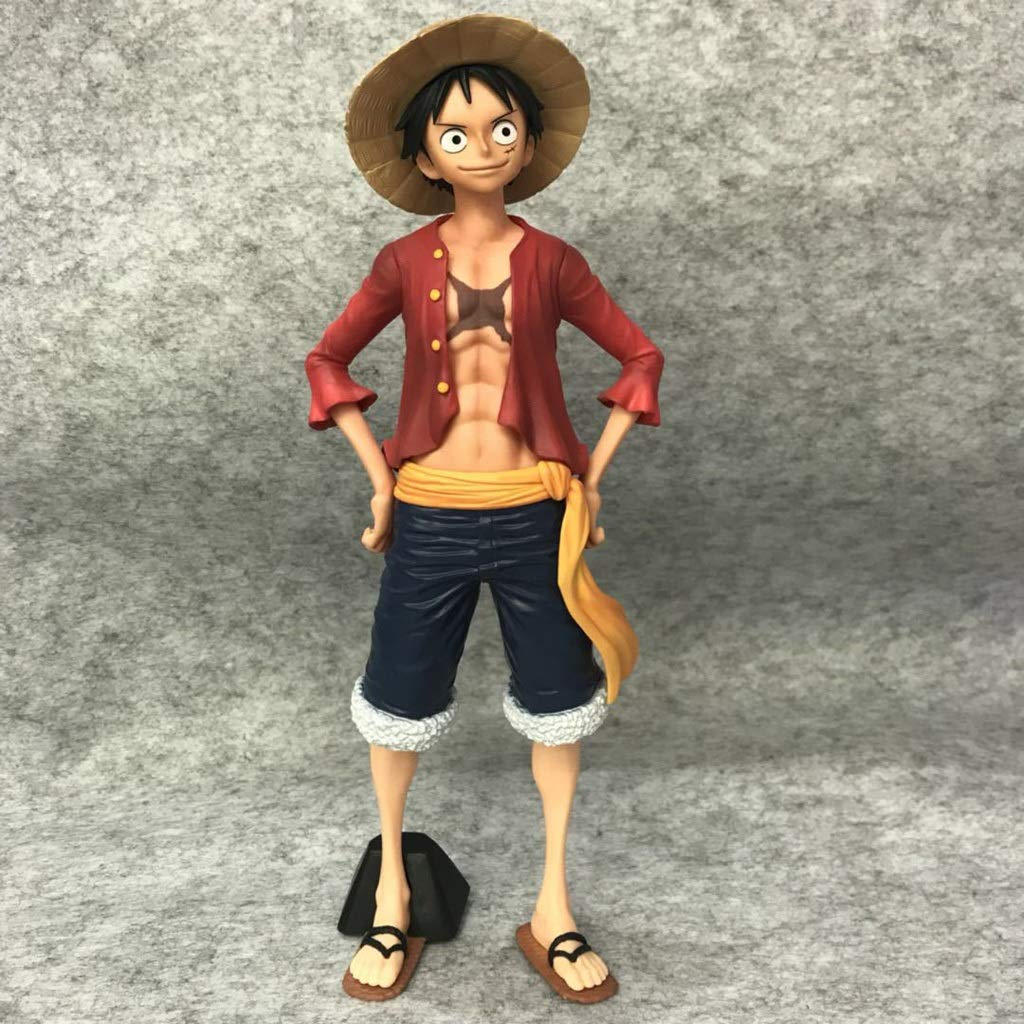 Toy Statue One Piece Toy Model Cartoon Character Collection Souvenir Luffy 23CM