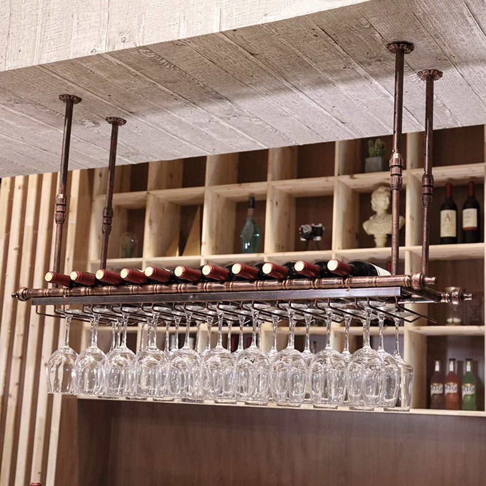 BMY ラックワインの壁の台紙の金属フレームのヨーロッパのレトロ - サイズは選ぶことができます(サイズ:60cm * 30cm) B07QRY6SZG 60cm*30cm
