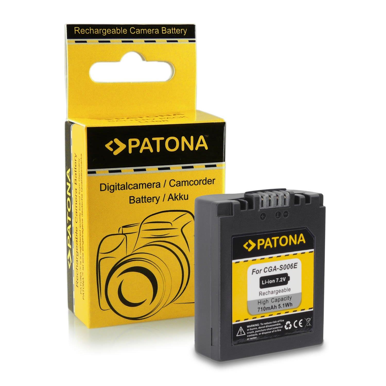 M&L Mobiles® | Novedad - 4in1 Cargador + 2x Batería como CGA-S006 E CGAS006 E con Infochip · 100% compatible con Panasonic Lumix DMC-FZ7 | DMC-FZ8 ...