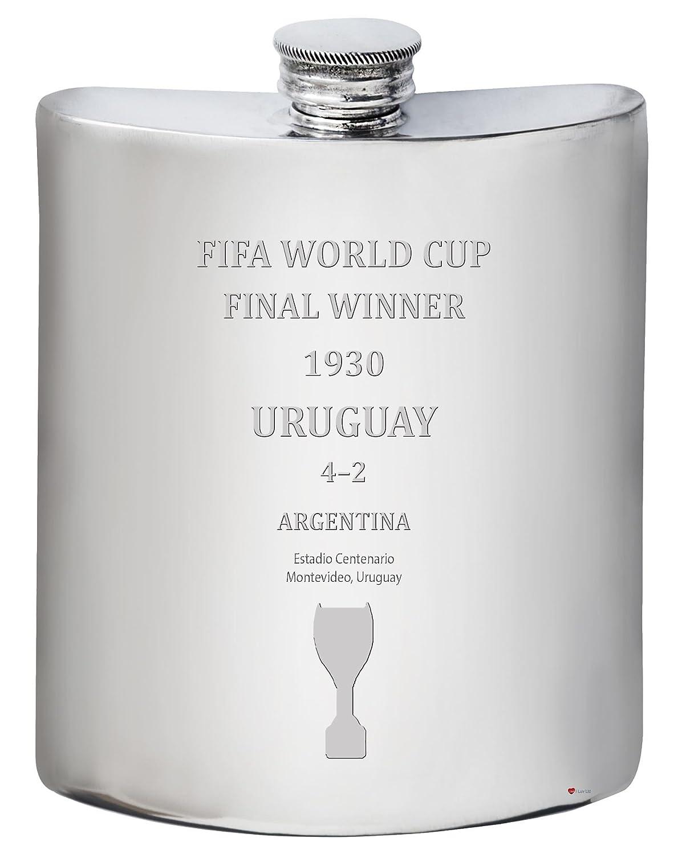 【通販激安】 Fifa World Cup World 1930 Winner Uruguay 6オンス ピューター ヒップフラスコ 6オンス ピューター B07F9YSHTM, 大口市:69e954b9 --- a0267596.xsph.ru