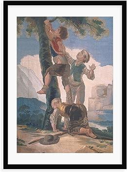 Magnolia Caja Boys Climbing a Tree por Francisco Jose de Goya y ...