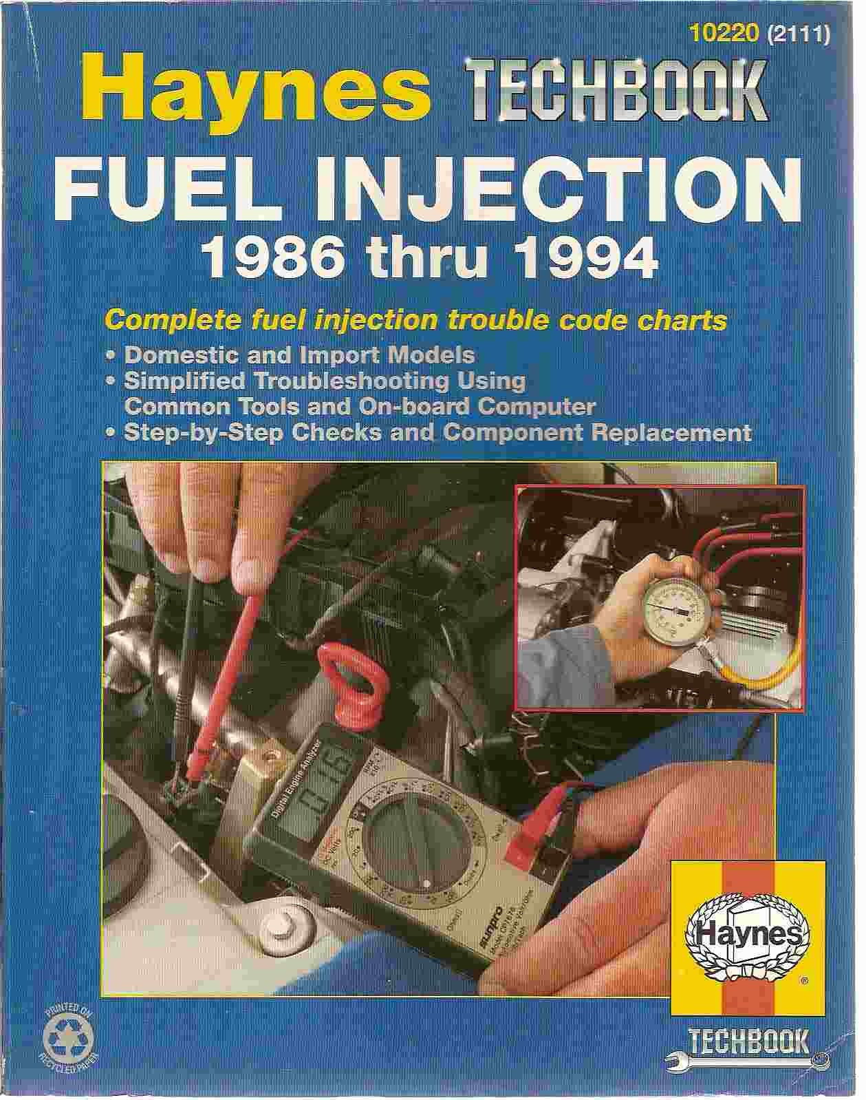 The Haynes Fuel Injection Diagnostic Manual (Haynes Automotive Repair Manual  Series): Mike Stubblefield, John H. Haynes: 9781563921117: Amazon.com: Books