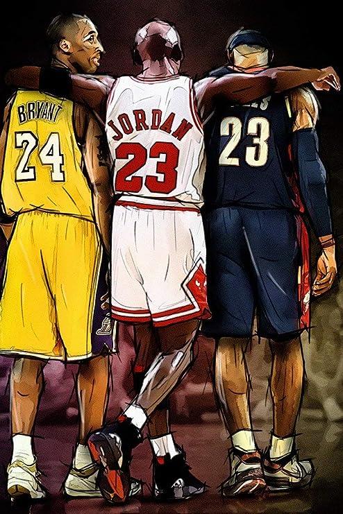 727486617c2e1 Amazon.com: target achiver poster Kobe Bryant Michael Jordan Lebron ...