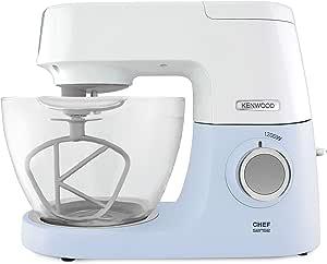 Kenwood KVC 5100 - Robot de cocina (4,6 L, Azul, Blanco, Vidrio, 1200 W, 295 mm, 390 mm): Amazon.es: Hogar
