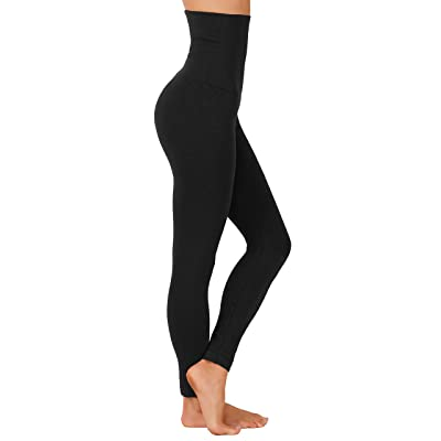 GD Fashion Fleece Women Leggings High Waist Tummy Control Winter Pants at Women's Clothing store