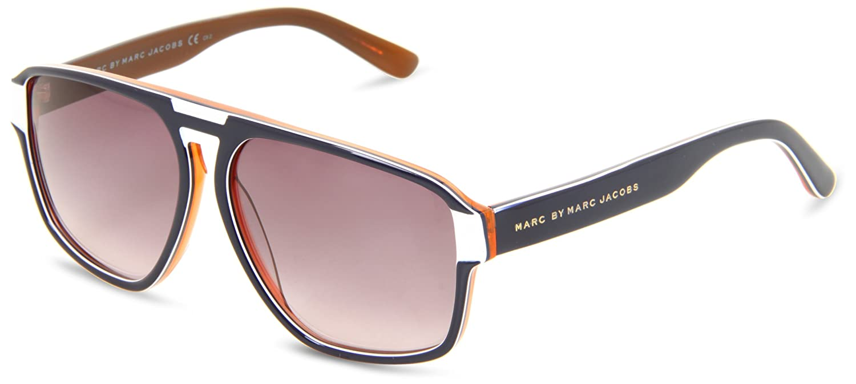 Orange Marc Jacobs Bianco in Marc 294S sole MMJ da Blu occhiali by wOyN0mv8n