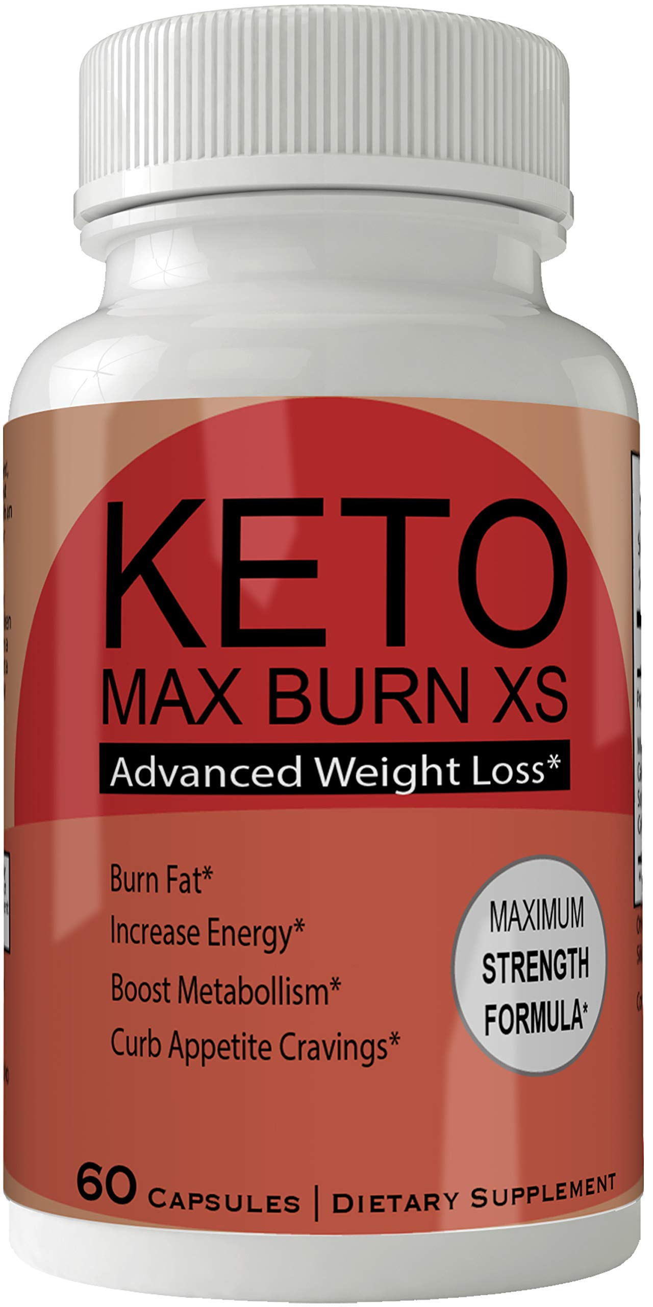 Keto Max Burn XS Pills Advance Weight Loss Supplement Appetite Suppressant Natural Ketogenic 800 mg Formula with BHB Salts Ketone Diet Capsules to Boost Metabolism, Energy and Focus